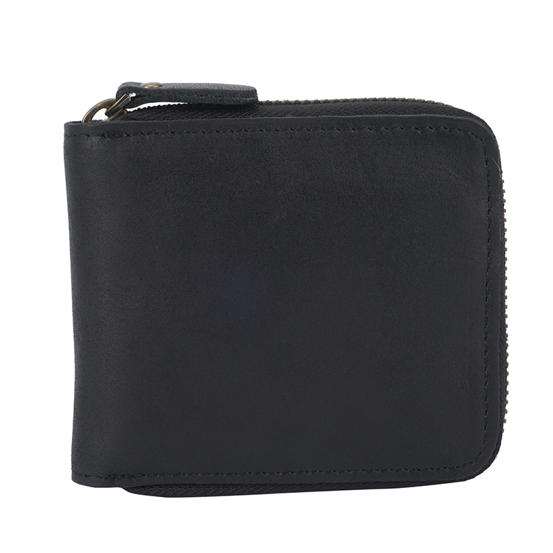 Zipper around Mens Bifold Wallet LH2582_5 Colors
