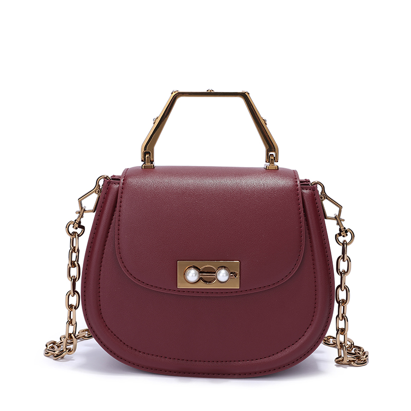 Awesome Real Leather Crossbody Bag LH2798_5 Colors