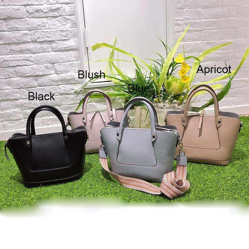 Capacity Women Leather Tote Purse LH2875S_3 Colors