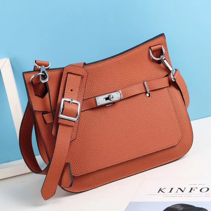 Ladies Padlock Real Leather Crossbody Bag LH2983_8 Colors