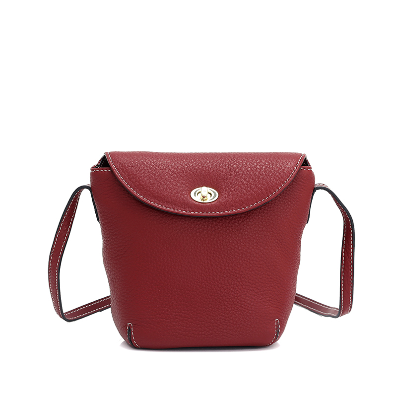 Flap Real Leather Leather Crossbody Bag for Women LH2993_3 Colors