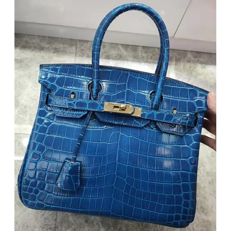 25cm Crocodile Pattern Leather Tote LH1632S_12 Colors