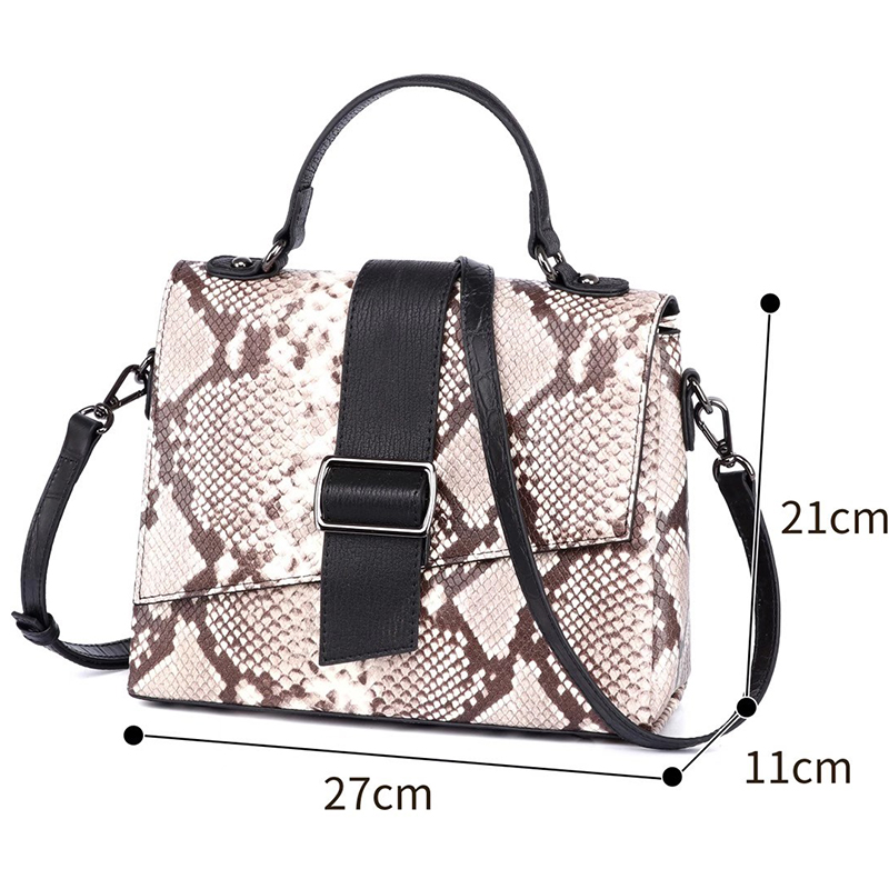 Python Effect Real Leather Purse for Women LH3028_8 Models