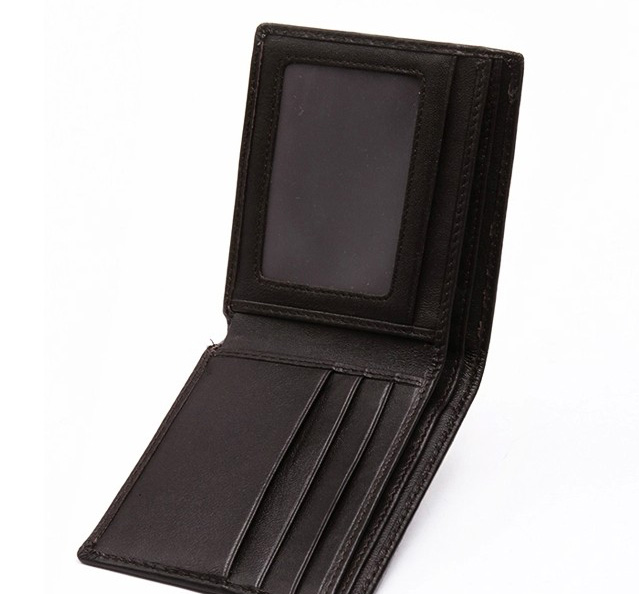 Jenna Black Leather Wallet LH849