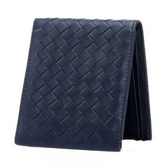 Jenna Dark Blue Leather Wallet LH849