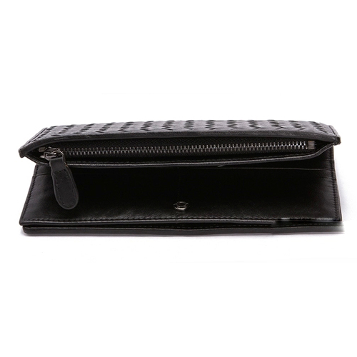 Kort Black Leather Wallets LH980