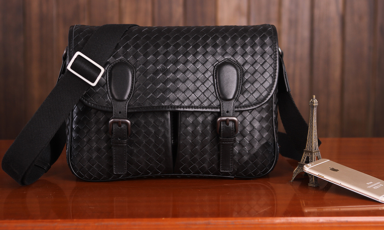 Nevavh Black Leather Bag LH1228