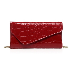 Sarina Red Leather Purse LH1268