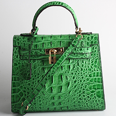 Crocodile Pattern Leather Tote LH1539_7 Colors