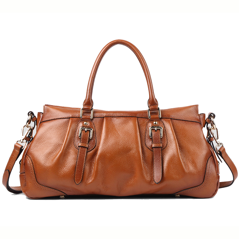 Smith Brown Leather Tote LH9902