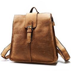 Practical Top Grain Cowhide Backpack LH2138