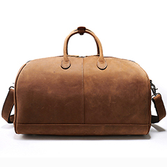 Capacity Genuine Leather Luggage Bag LH2141