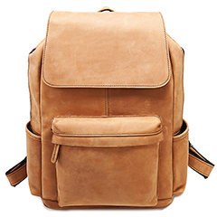Pockets Genuine Leather Backpack LH2144