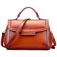 Typical Real Leather Satchel LH2163