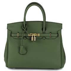 35cm Womens Padlock Top Handle Bag LH1946L_21 Colors
