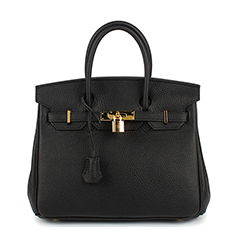 25cm Womens Padlock Top Handle Bag LH1946S_22 Colors