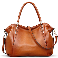 Practical Two-tone Color Leather Shoulder Bag LH1432_3 Colors