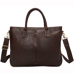 Casual Distress Leather Laptop Bag LH2296