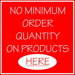 NO Minimum Order Quantity