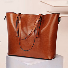 Large Designer Real Leather Shoulder Bag LH2567_6 Colors