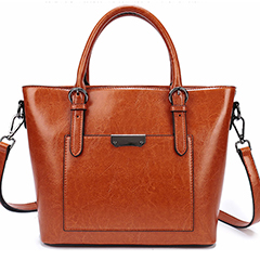 Trendy Womens Leather Tote Handbag LH2569_6 Colors