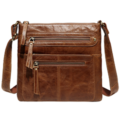 Multi Pockets Crossbody Shoulder Bag LH2550_3 Colors