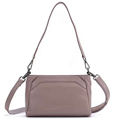 Womens Soft Genuine Leather Crossbody Bag LH2764_3 Colors