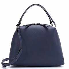 Ladies Soft Genuine Leather Tote Purse LH2763_3 Colors