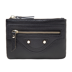Rivet Leather Wallet Coin Purse Pocket Bag LH2776_4 Colors