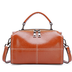 Distress Leather Satchel Bag Purse Bag LH2835_3 Colors