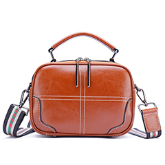 Distress Leather Satchel Bag Women Handbag LH2837_5 Colors