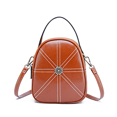 Real Leather Small Crossbody Bag Backpack LH2849A_3 Colors