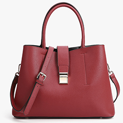 Real Leather Tote Top Handle Bag LH2854_4 Colors