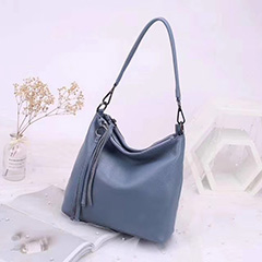 Tassels Real Leather Tote Crossbody Bag LH2907_5 Colors