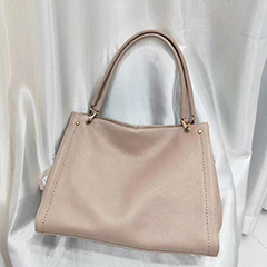 Large Leather Tote Shoulder Bag LH2972_ 8 Colors