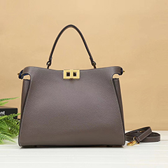 Full Grain Cowhide Leather Crossbody Bag LH2978_3 Colors