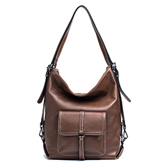 2 Versions Classic Real Leather Shoulder Bag LH2990A_2 Colors