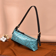 Python Pattern Real Leather Shoulder Bag LH2996_13 Colors