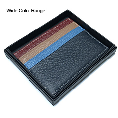 Wide Color Range Genuine Leather Card Holder Purse LH2997