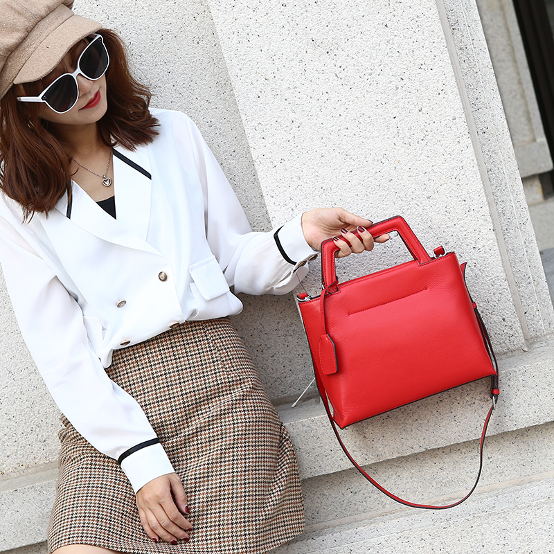 Fashion Women Leather Tote Clutch Purse LH3012_5 Colors