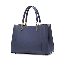 Trendy Women Capacity Leather Tote Top Handle Bag LH3016_4 Colors
