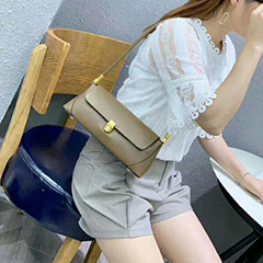 Elegant Women Leather Shoulder Bags Purse Bag LH3024_4 Colors