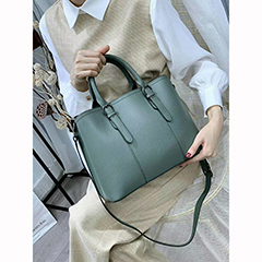 Office Handbags Leather Satchel Bag LH3025_6 Colors
