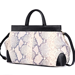 Python Effect Real Leather Purse Women Satchel LH3030_8 Models