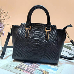 Python Real Leather Tote Bag Women Handbags LH3043_5 Colors