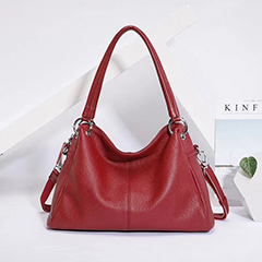 Personalized Leather Shoulder Bag Ladies Purse LH3045_5 Colors