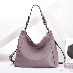 Supple Leather Slouchy Bag Shoulder Purse LH3047_6 Colors