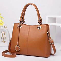 Practical Real Leather Purse Tote Handbag LH3051_6 Colors