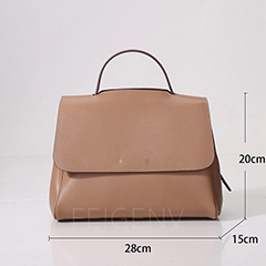 Real Leather Sachel Bag Women LH3054_6 Colors