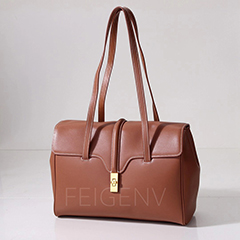 Top Grain Genuine Leather Shoulder Bag LH3055S_5 Colors